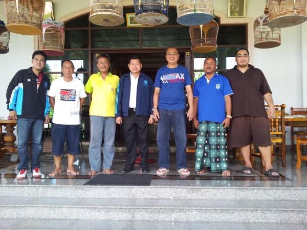 Bersama Gubernur Songkhla Thailand