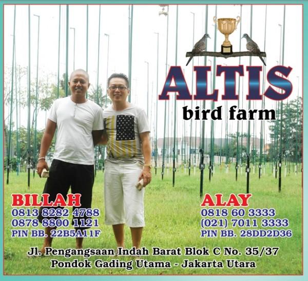 altis birdfarm jakarta