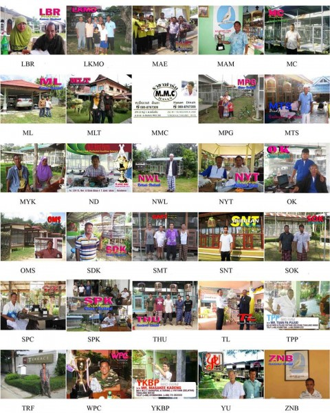 30 dari total bird farm Thailand